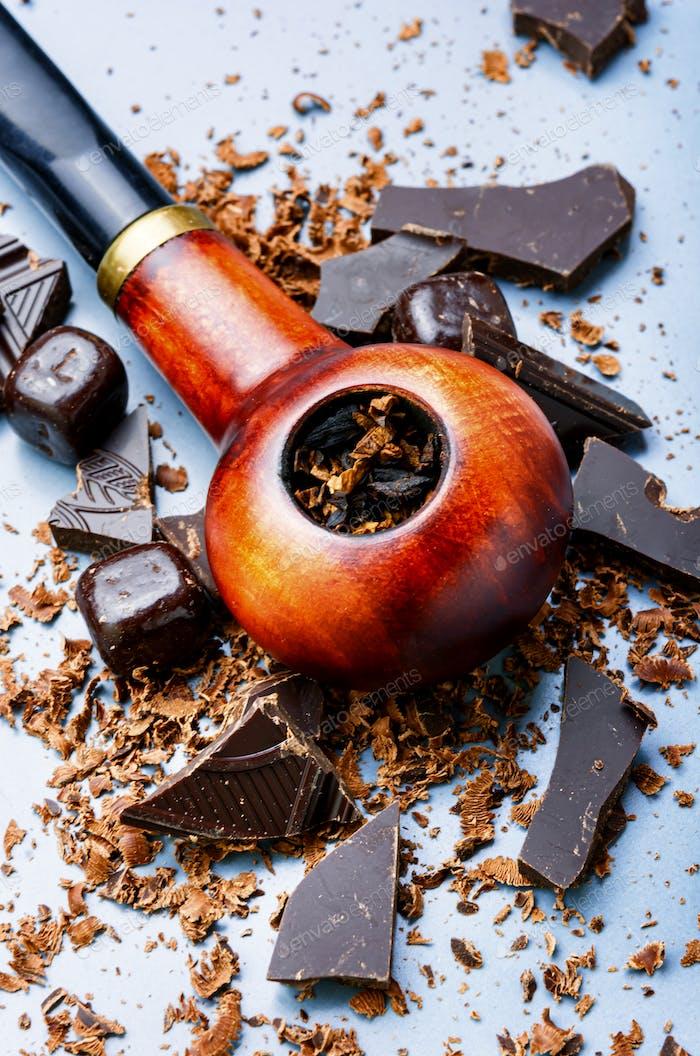 Курительная труба и табак