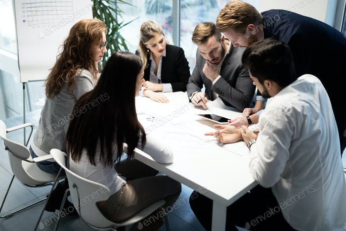 Thumbnail for Business meeting and teamwork by business people