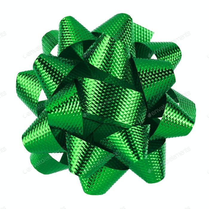 Grüner Bogen isoliert