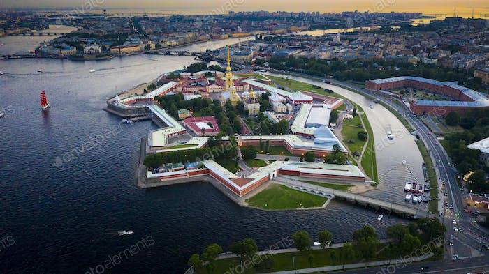 Panorama of Sankt-Petersburg
