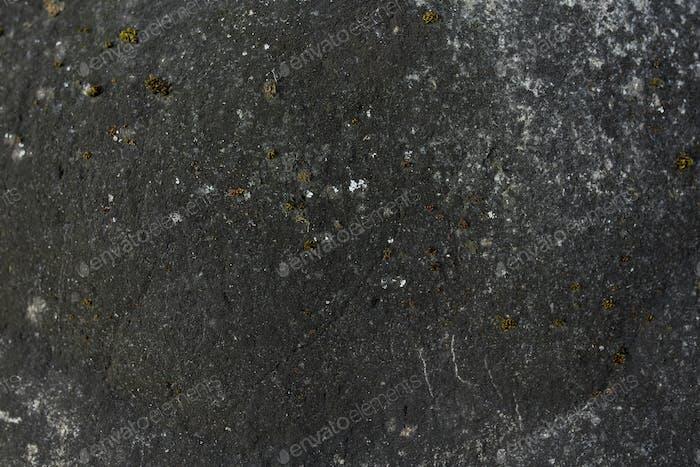 Black stone in retro style.