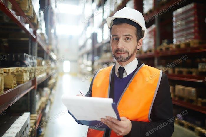 Warehouse revision