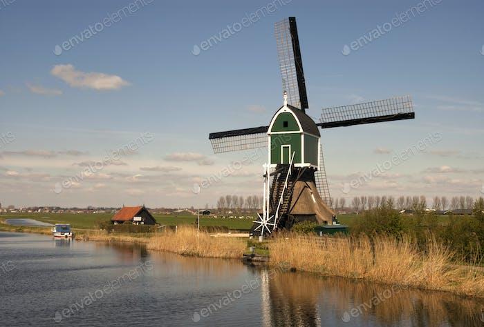 Windmill the Achterlandse molen