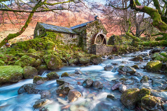 Borrowdale in the Lake District