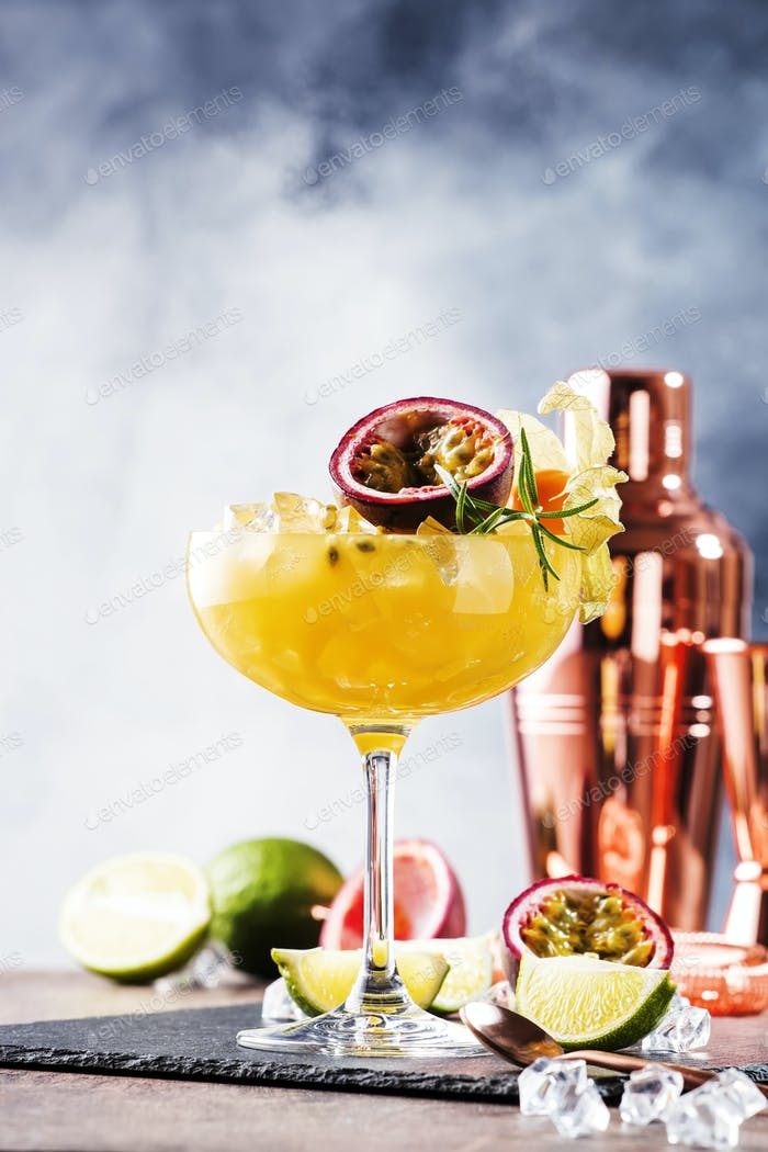 Pure passion cocktail