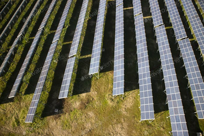 Photovoltaic panels area
