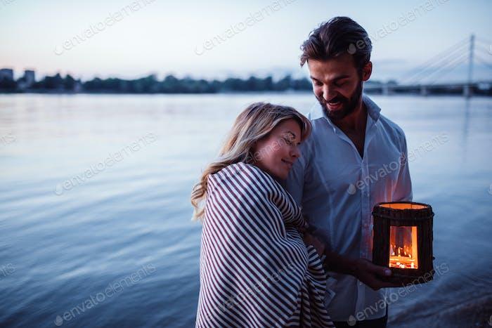 Romantische Zeit zusammen