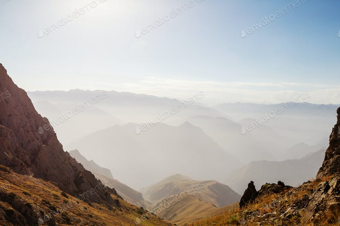 Chimgan mountains