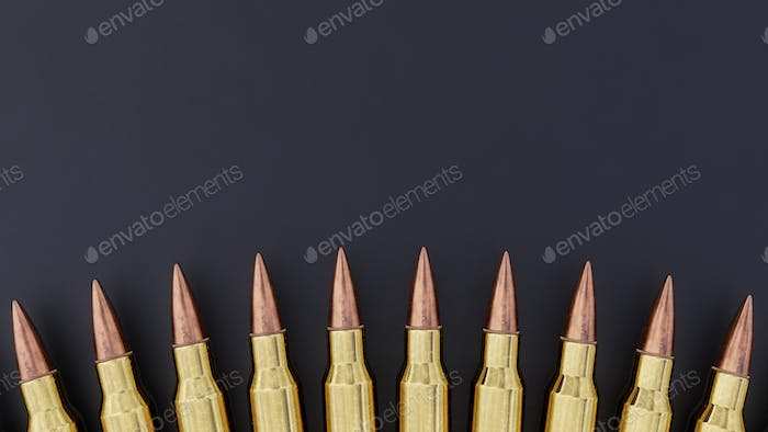 Thumbnail for 556mm Ammunition Background