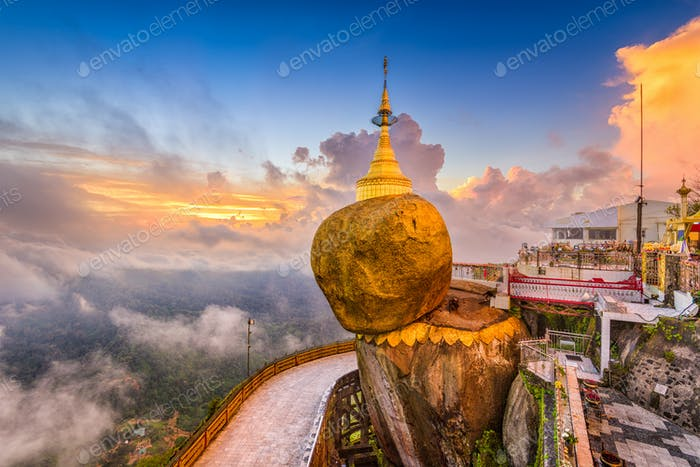 Goldeon Rock Myanmar