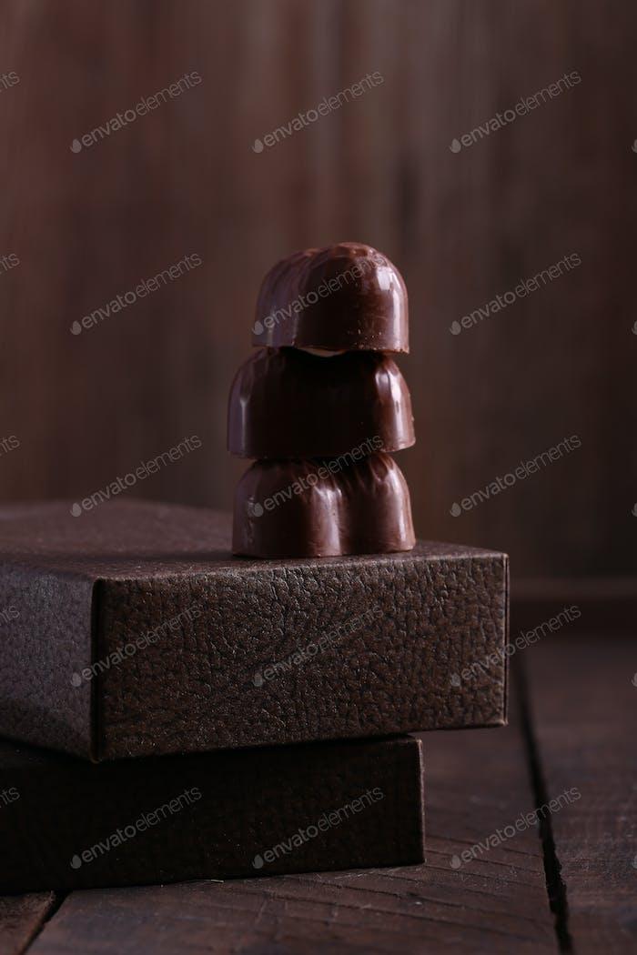 Chocolate Candies Pralines