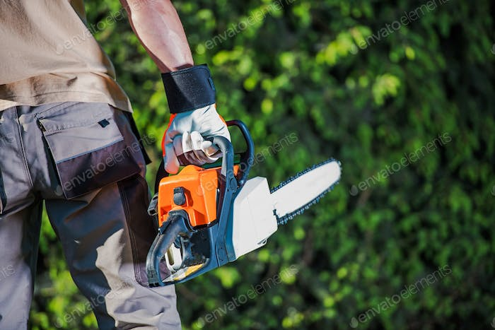 Men with the Chain Saw