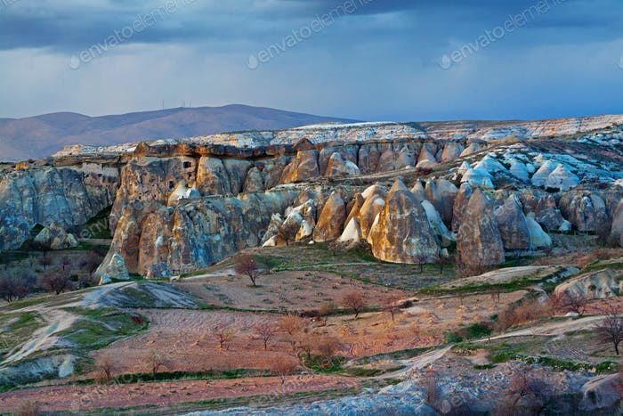 Rose valley near Goreme, Turkey