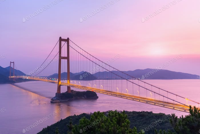 zhoushan cross-sea bridge