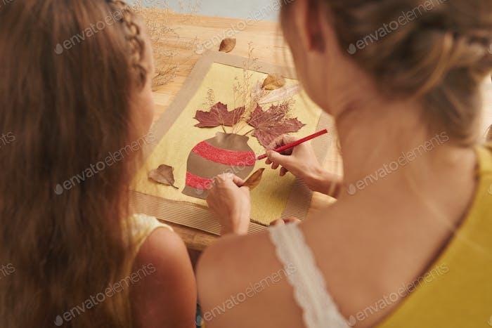 Making artwork