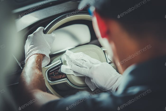 Detailed Modern Car Cleaning
