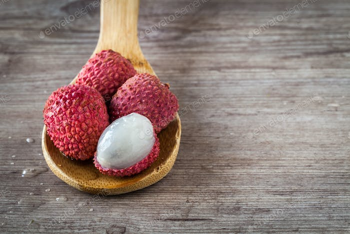 Litchi fruits