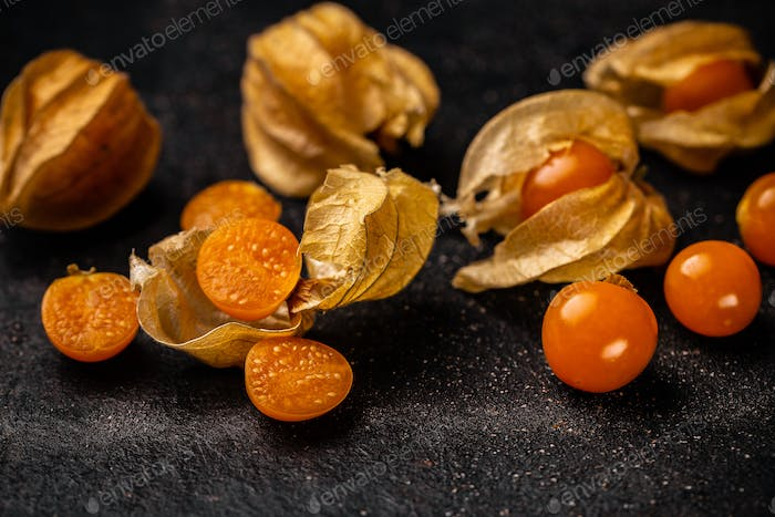 Cape gooseberry or Physalis