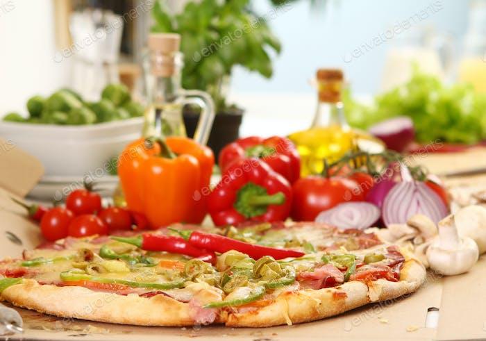 Pizza oil