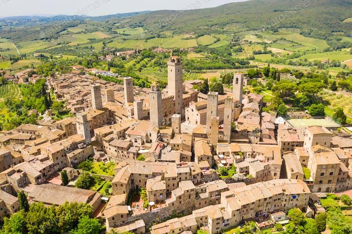 San Gimignano, Toskana Region