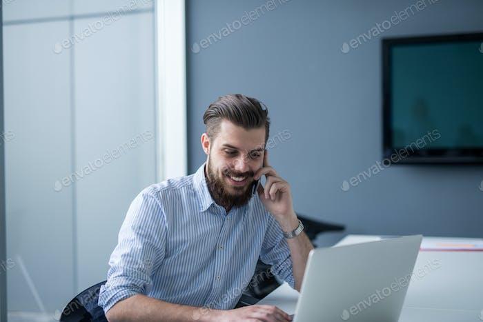 Multitasking in the office