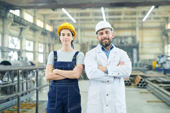 Modern Factory Employees