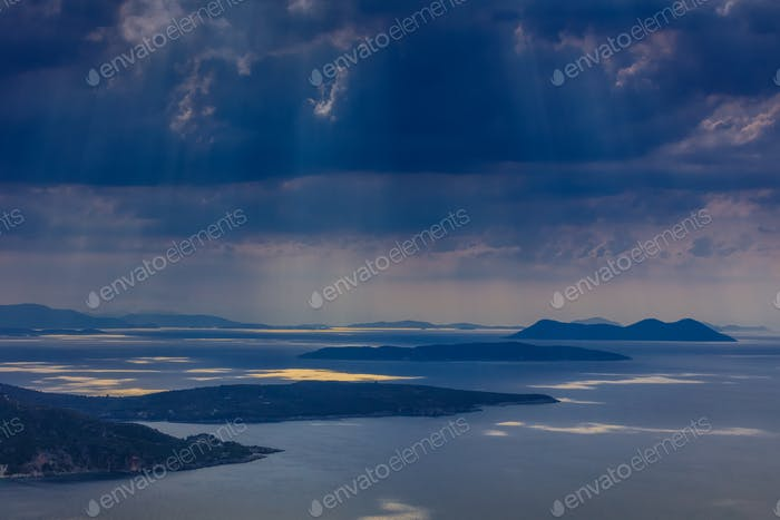 rain in Ionian Islands