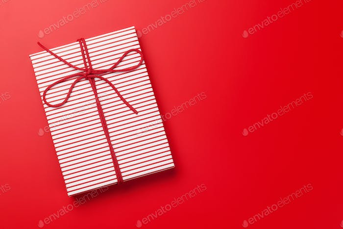 Christmas or Valentine's day gift box