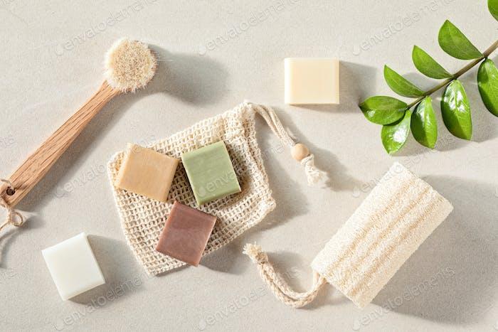 Handmade natural bar soaps. Ethical, sustainable zero waste lifestyle
