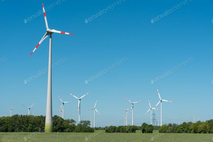 Wind energy plants in Germany