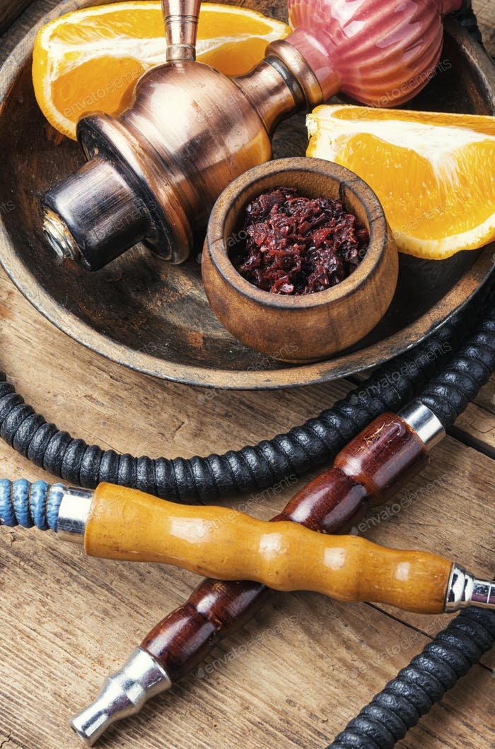 Orange hookah tobacco