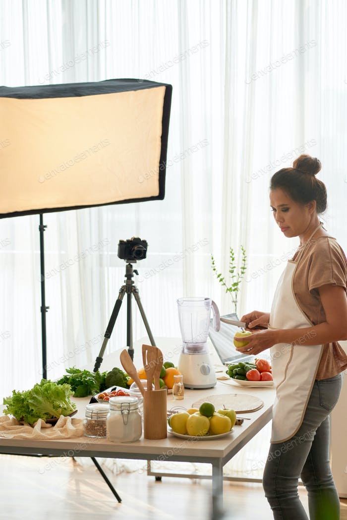 Cooking blogger