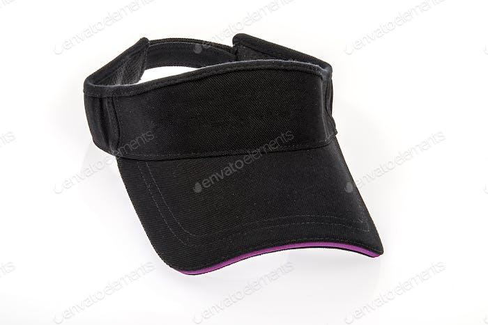 Golf Visor With Purple Colour Trim