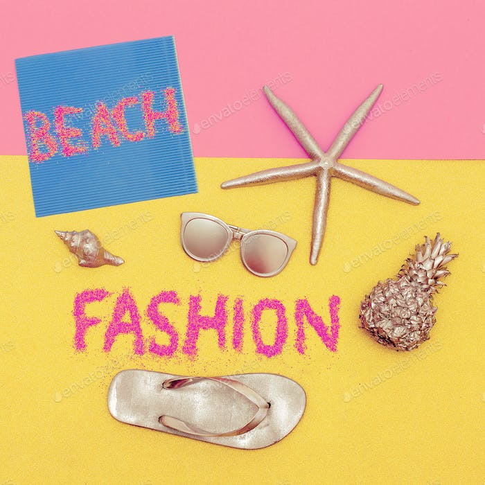 Beach Trend Set Minimal Design Fashion