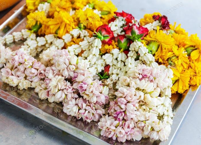 Blume für das Angebot in Thailand
