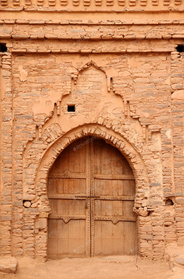 Entrance to kasbah