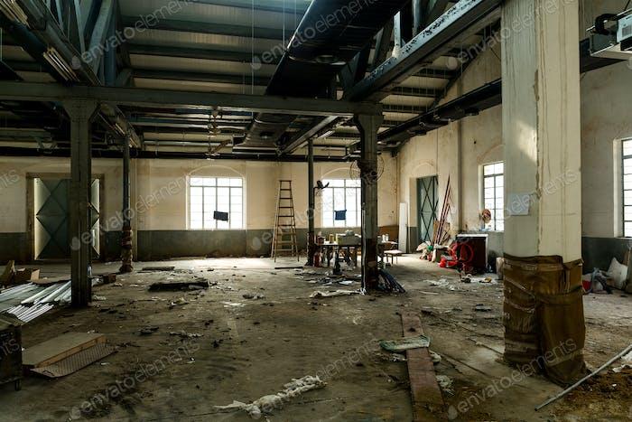 Destruction ruins factory damage