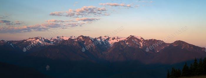 Parque Nacional de las Montañas Olímpicas Amanecer Hurricane Ridge