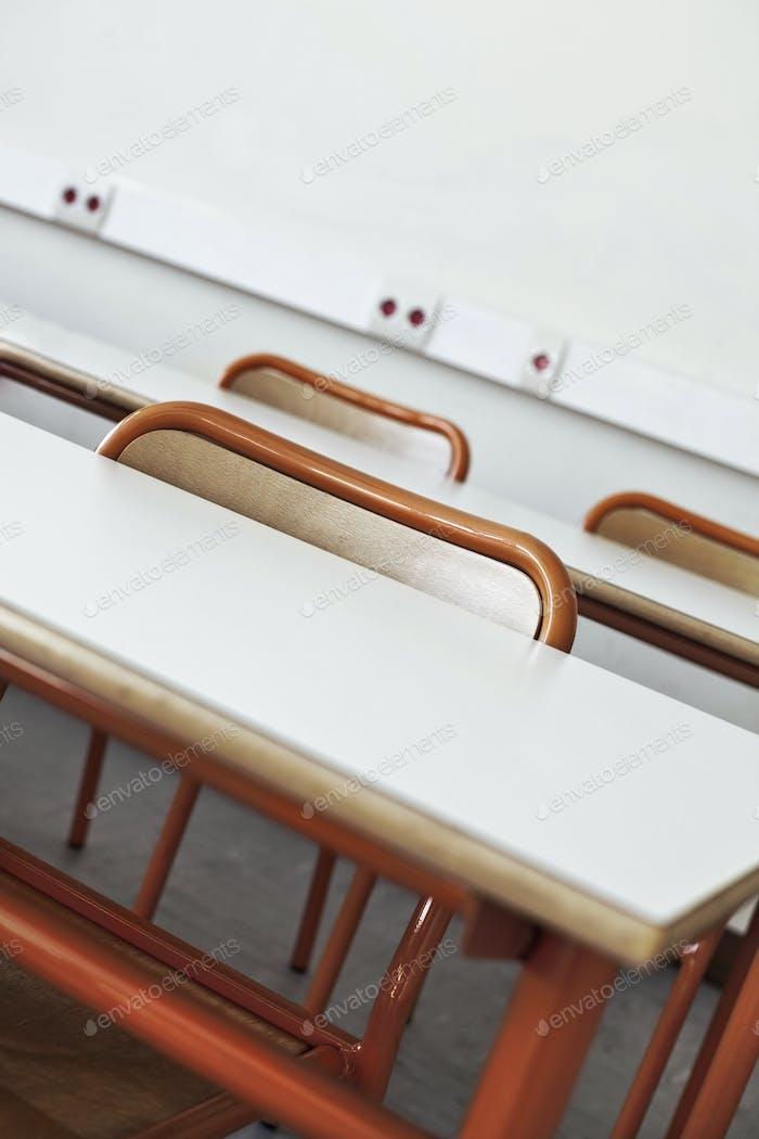 In einem Klassenzimmer