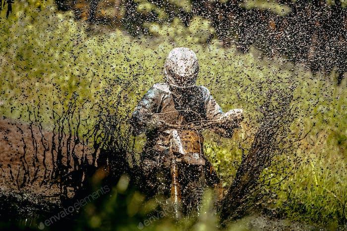 rider Enduro motorcycle