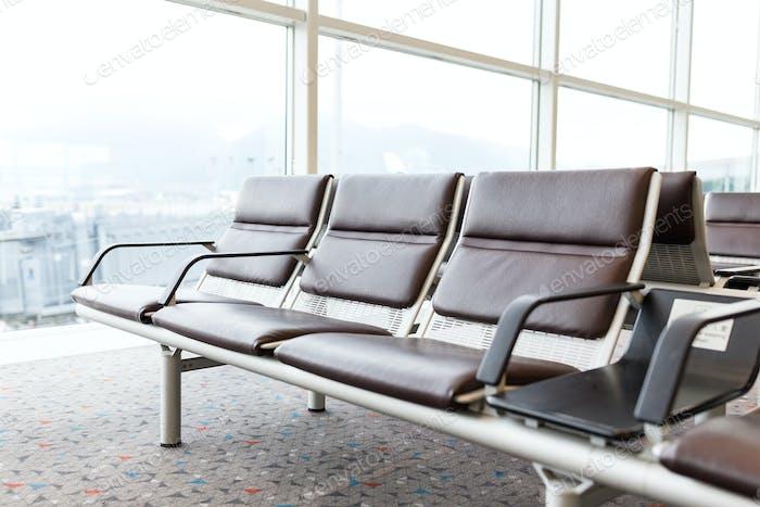 Airport waiting hall