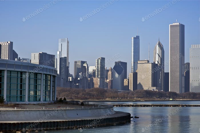 Chicago Skyline East