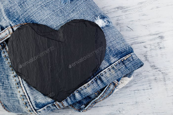 Denim. Jeans texture background.