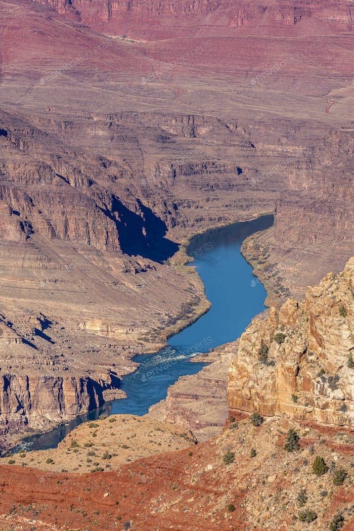 Close up of Colorado River