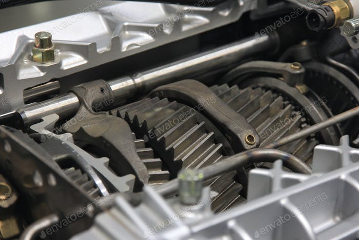 Schweres LKW-Getriebe