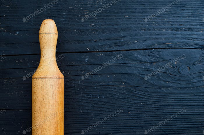 Rolling wooden pin
