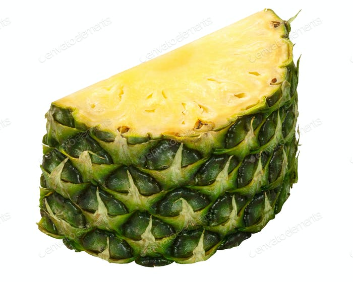 Pineapple ananas comosus chunk