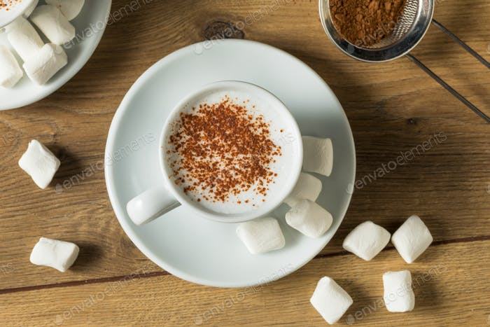 Healthy Homemade Milk Babyccino