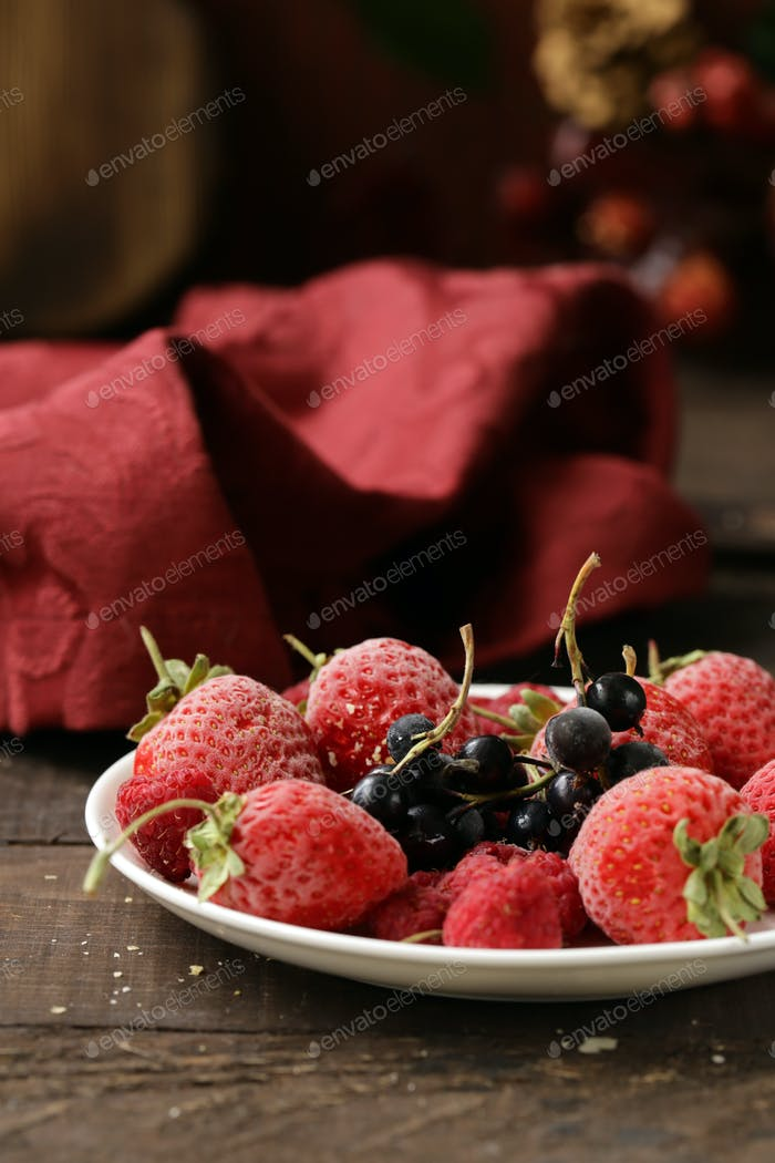 Fresh Organic Berries