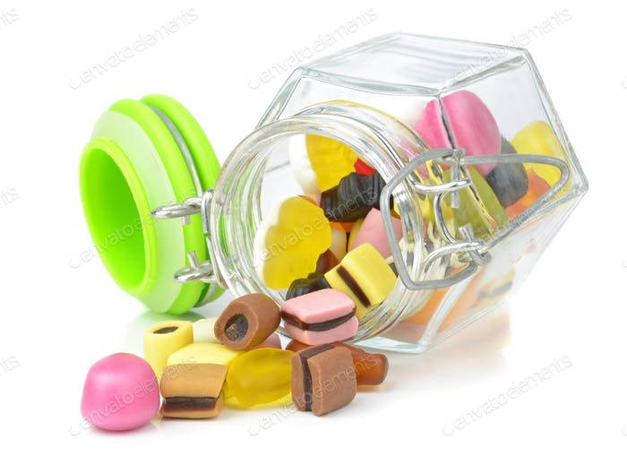 A Glass Jar of Sweets